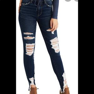 AEO NEW Super High Rise Jegging